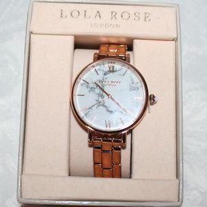 """LOLA ROSE LONDON WHITE HOWLITE """"CALMING"""" LR4002"""